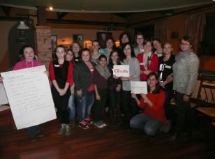 Mladí dobrovoľníci - domov dôchodcov Levice